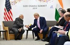 Lãnh đạo Ấn Độ và Mỹ thảo luận một loạt vấn đề song phương