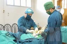 Hơn 60 bệnh nhân bị dị tật bẩm sinh được phẫu thuật miễn phí