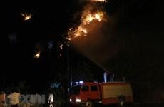 Ninh Bình: Vụ cháy rừng trên núi Vụng Quao được dập tắt hoàn toàn