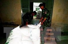 Biên phòng An Giang thu giữ 600kg đường cát nhập lậu qua biên giới