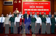 Thủ tướng Nguyễn Xuân Phúc dự Hội nghị Quân chính toàn quân