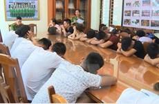 Mang ma túy từ Hà Nội vào Sầm Sơn để... tổ chức sinh nhật