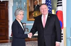 Ngoại trưởng hai nước Hàn Quốc-Mỹ điện đàm về các vấn đề nóng
