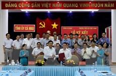 Ủy ban Nhân dân tỉnh Cà Mau ký kết hợp tác thông tin với TTXVN