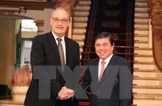 Thành phố Hồ Chí Minh thúc đẩy hợp tác với Liên bang Thụy Sĩ