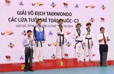 1.300 vận động viên dự Giải Taekwondo các lứa tuổi trẻ toàn quốc