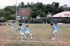 Khai mạc Giải bóng đá nữ vô địch U16 Quốc gia 2019 tại Sơn La