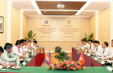 Việt Nam và Campuchia đẩy mạnh hợp tác trong công tác Mặt trận