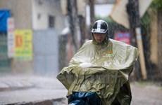 Khu vực Bắc Bộ có mưa to, nguy cơ xảy ra lốc sét và gió giật mạnh