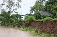 An Giang di dời khẩn cấp nhà dân trong vùng có nguy cơ sạt lở
