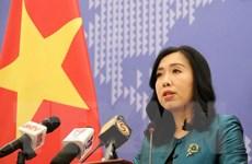 Bộ Ngoại giao Việt Nam lên tiếng về diễn biến gần đây ở Biển Đông