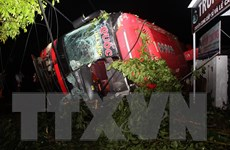 Cập nhật danh sách nạn nhân bị thương trong vụ lật xe khách ở Đắk Lắk