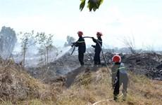 Khống chế cháy rừng, vận hành an toàn đường dây truyền tải điện