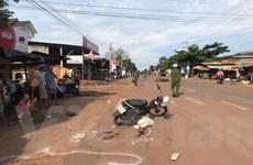 Xe máy đấu đầu khiến 1 người tử vong, 2 người bị thương nặng