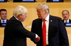 Tổng thống Mỹ Trump điện đàm với tân Thủ tướng Anh Boris Johnson