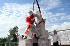 Đặt tượng đài ngành giao bưu và vô tuyến điện Nam Bộ tại Cà Mau
