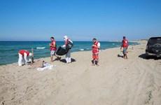 Trục vớt được hàng chục thi thể sau vụ đắm tàu ngoài khơi Libya