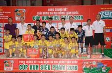 Đội U11 Sông Lam Nghệ An vô địch Giải bóng đá Nhi đồng toàn quốc