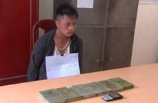 Bắt giữ hai anh em mua 6 bánh heroin từ Lào về Việt Nam tiêu thụ