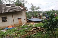 Mưa dông làm sập, tốc mái 83 căn nhà ở thành phố Cần Thơ