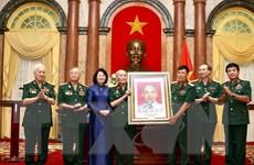 Phó Chủ tịch nước tiếp đoàn Hội Cựu chiến binh Sư đoàn 308