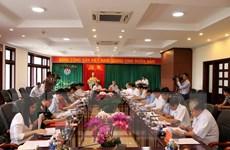 Thường trực Ban Bí thư Trần Quốc Vượng làm việc tại Đắk Nông