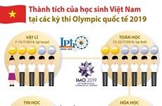 Học sinh Việt Nam giành thành tích cao tại các kỳ Olympic quốc tế