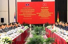 Việt Nam-Lào trao đổi kinh nghiệm quý trong công tác xây dựng Đảng