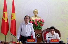 Chủ tịch Ủy ban Trung ương MTTQ Việt Nam thăm đồng bào bị lũ lụt