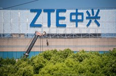 Lợi nhuận ròng của ZTE tăng mạnh trong 6 tháng đầu năm nay