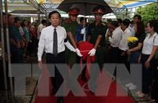 Truy điệu, an táng hài cốt liệt sỹ hy sinh tại vùng U Minh Thượng