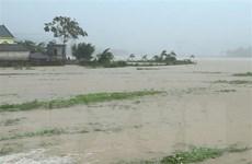 Mưa to do bão số 4 gây ngập lụt nhiều khu vực miền núi tỉnh Thanh Hóa