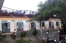 Lào Cai: Mưa to kèm dông lốc gây nhiều thiệt hại tại huyện Văn Bàn