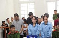 Hai án tử hình, bốn án chung thân cho 6 đối tượng buôn bán ma túy