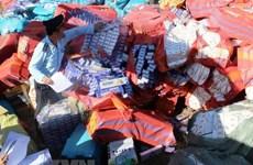 Ngụy trang gần 35.000 bao thuốc lá nhập lậu trong thùng bánh kẹo