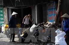 Hơn 350 người khám sức khỏe miễn phí sau vụ cháy Công ty Rạng Đông