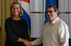 Ngoại trưởng Cuba tiếp đại diện cấp cao của Liên minh châu Âu