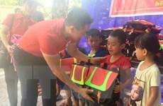 Học sinh vùng lũ Quảng Bình hân hoan dự Lễ khai giảng năm học mới