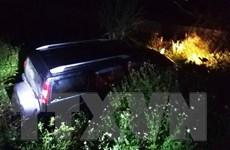 Nghệ An: Xe ôtô 7 chỗ lao xuống mương, 3 người thương vong