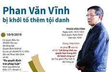 [Infographics] Khởi tố thêm tội danh đối với Phan Văn Vĩnh