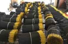 Ấn Độ hạn chế nhập khẩu hương nhang: Cần hành động ứng phó thích hợp