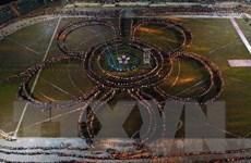 Đặc sắc màn trình diễn nghệ thuật Xòe Thái với 5.000 người tham gia