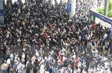 Gần 90% trường học tại Hong Kong không có học sinh tham gia bãi khóa