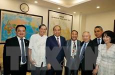Thủ tướng dự buổi gặp mặt kỷ niệm 70 năm Trường Thiếu sinh quân