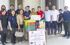 Đại sứ quán Thái Lan hỗ trợ dân Thái Nguyên bị ảnh hưởng do mưa lũ
