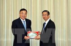 Tăng cường hợp tác giữa TP.HCM và tỉnh Giang Tô của Trung Quốc