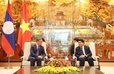Thành phố Hà Nội nỗ lực mở rộng quan hệ với các địa phương của Lào