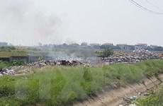 [Photo] Làng nghề Tề Lỗ ô nhiễm nặng vì chất thải từ tháo dỡ xe