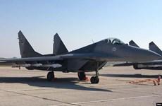 Slovakia: Rơi máy bay quân sự Mig-29, phi công thoát nạn