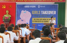 Trao quyền cho trẻ em gái: 520 em được đảm nhận vị trí lãnh đạo